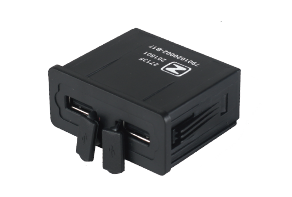 12V/2.1A*2  双USB插座